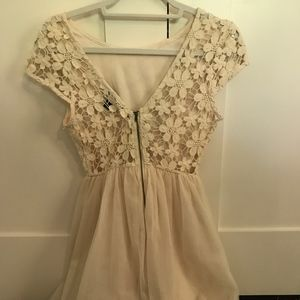 dresses, summer, white, lace